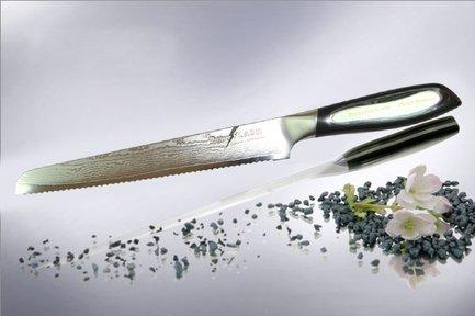 Tojiro Нож для нарезки хлеба Flash, 20 см нож для хлеба tefal talent 20 см k0910404