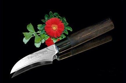 Tojiro Нож для чистки овощей и фруктов, 7 см нож для чистки овощей tefal talent 7 см k0911204