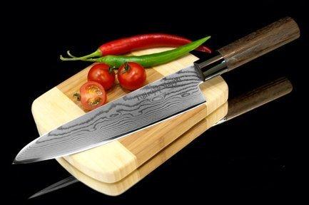 Tojiro Поварской нож Shippu, 21 см, сталь VG-10, 63 слоя FD-594 Tojiro razor black label r tec