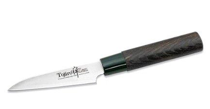 Tojiro Нож для овощей и фруктов Zen, 9 см, сталь VG-10, 3 слоя FD-561 Tojiro хай хэт и контроллер для электронной ударной установки roland fd 9 hi hat controller pedal
