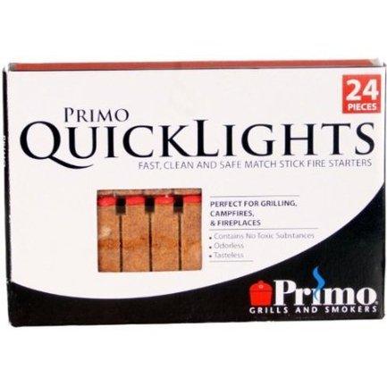 Primo Палочки для быстрого розжига угля Primo Quick Lights, 24 шт. средство для розжига burner 24 шт