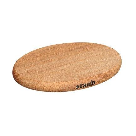 купить Staub Подставка под горячее деревянная, магнитная, овальная, 15х11 см 1190711 Staub по цене 2050 рублей