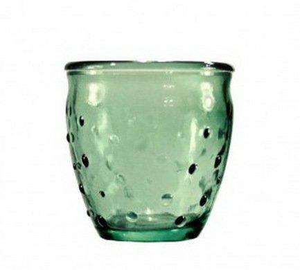 Vidrios San Miguel Стакан Dots (0.25 л), 9х9 см, зеленый