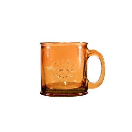 Vidrios San Miguel Кружка Sol (0.35 л), 10х10 см, оранжевая 3101DB08 Vidrios San Miguel