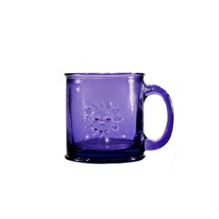Vidrios San Miguel Кружка Sol (0.35 л), 10х10 см, фиолетовая san miguel ваза isabella 25 см