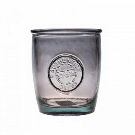Vidrios San Miguel Стакан Authentic (0.45 л), 10.5х9 см, серый 2178DB105 Vidrios San Miguel графин san miguel mediterraneo 0 9 л