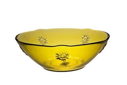 Vidrios San Miguel Чаша Sol (1.9 л), 9х25 см, желтая 7366DB401 Vidrios San Miguel san miguel ваза san miguel m2504db06