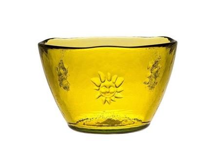 Vidrios San Miguel Чаша Sol (0.7 л), 14х10 см, желтая san miguel ваза isabella 25 см