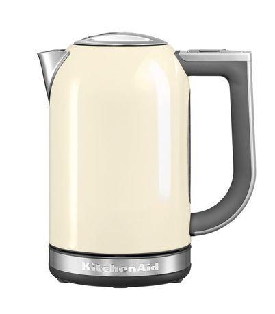 KitchenAid Электрочайник (1.7 л), кремовый kitchenaid набор прямоугольных чаш для запекания 0 45 л 2 шт красные
