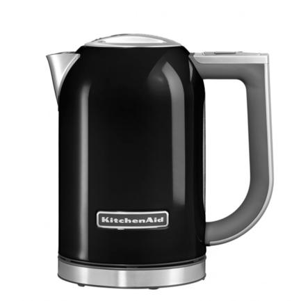 KitchenAid Электрочайник, черный 5KEK1722EOB KitchenAid чайник электрический kitchenaid 5kek1722esx