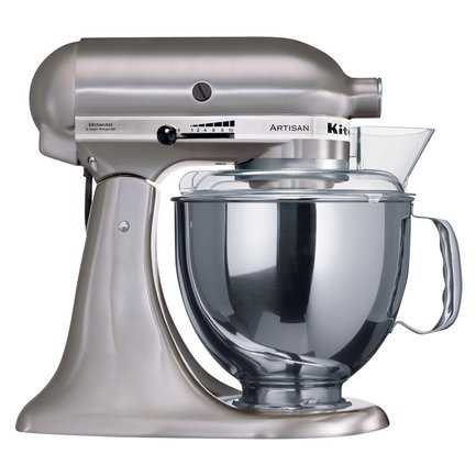 KitchenAid Миксер планетарный, дежа (4.83 л), 3 насадки, 5KSM150PSENK