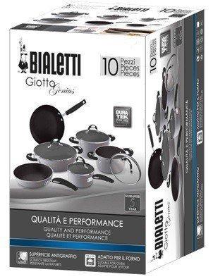 Bialetti Подарочный набор Giotto, 10 предметов 00AGD476 Bialetti подарочный набор для рисования любимые сказки приключения аладина 46 предметов
