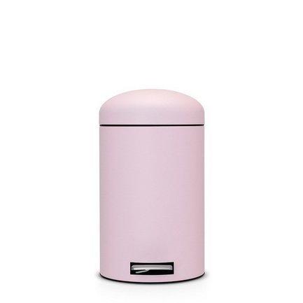 Brabantia Ведро для мусора Retro с педалью (12 л) MC, 45.4х34.3х25.1 см, розовое