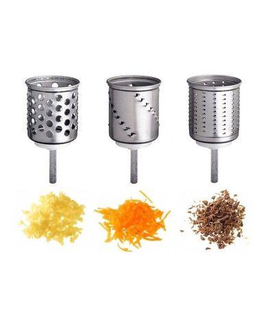 KitchenAid Ножи-барабаны дополнительные для овощерезки, 3шт. EMVSC KitchenAid барабаны для строевых маршей в алматы