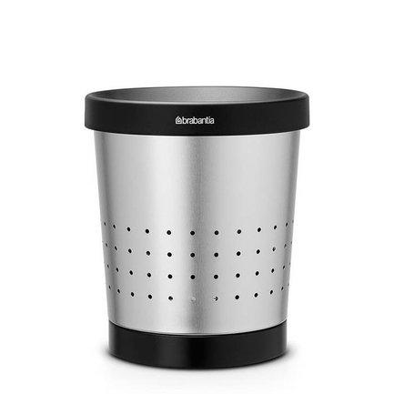 Brabantia Корзина для бумаг (5 л), 21.6х24 см, матовая стальная 364303 Brabantia