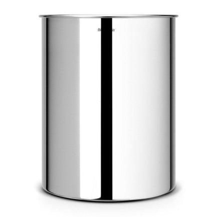 Корзина для бумаг (15 л), 26.2х32 см, стальная полированная от Superposuda