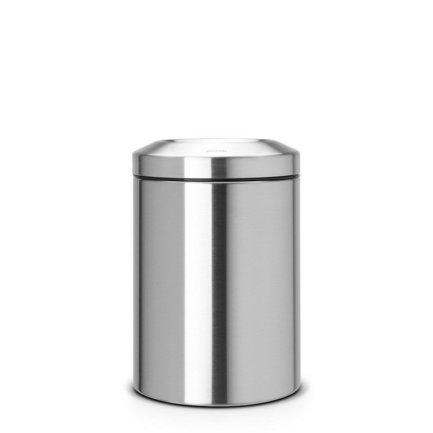 Brabantia Несгораемая корзина для бумаг (15 л), 25.1х37.5см, стальная brabantia мусорный бак flipbin 30 л белый