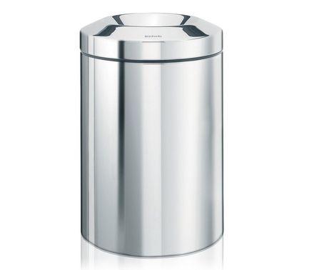 Brabantia Несгораемая корзина для бумаг (7 л), 20.7х29 см, стальная brabantia мусорный бак flipbin 30 л белый
