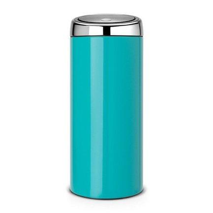 Brabantia Мусорный бак Touch Bin (30 л), 31х72.5 см, бирюзовый 481925