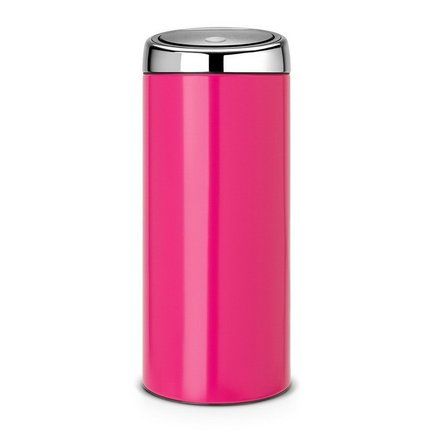 Brabantia Мусорный бак TOUCH BIN (30 л), 29.5х72.5 см, розовый 481987 Brabantia brabantia мусорный бак flipbin 30 л белый