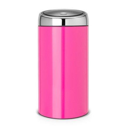 Brabantia Мусорный бак TOUCH BIN (45 л), 37х75.5 см, розовый 481963 Brabantia