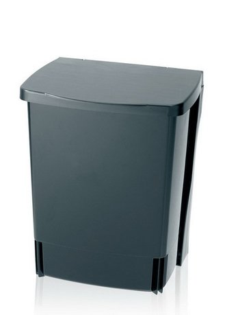 Brabantia Ведро для мусора (10 л) встраиваемое, 32.8х25.2х21 см, черное 395246 Brabantia melys куртка