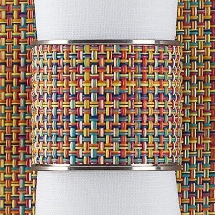 CHILEWICH Кольцо для салфеток Confetti 0801-MNBK-CONF CHILEWICH