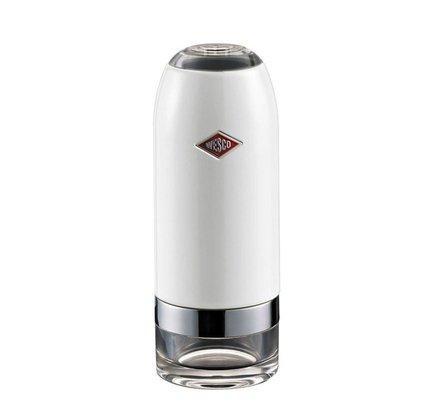 Wesco Мельница для соли и перца, 6х16 см, белая (322774-01)  wesco мельница для специй высокая peppy mill 30х7 5 см кремовая