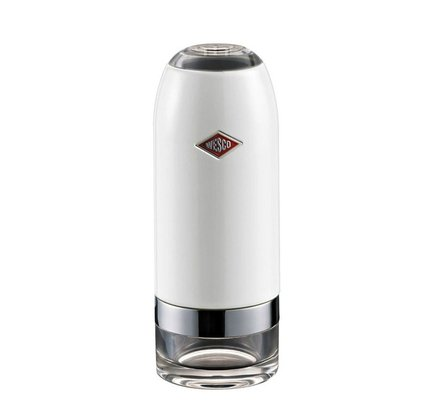 Wesco Мельница для соли и перца, 6х16 см, белая (322774-01) 322774-01 Wesco мат плата для пк msi z270 tomahawk arctic socket 1151 z270 4xddr4 3xpci e 16x 3xpci e 1x 6xsataiii atx retail