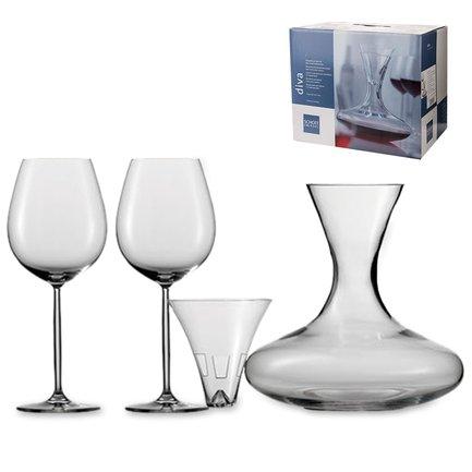 Schott Zwiesel Набор для красного вина Diva, 4 пр.
