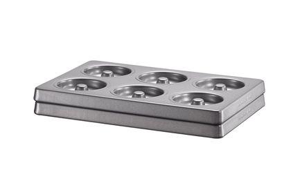 KitchenAid Набор форм для бубликов и пончиков, 2 шт., с антипригарным покрытием форма для выпекания керамика kitchenaid набор kblr02mbac 2шт по 0 45л