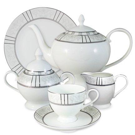 Emerald Чайный сервиз Шенонсо на 6 персон, 21 пр. E5-10-12_21-AL