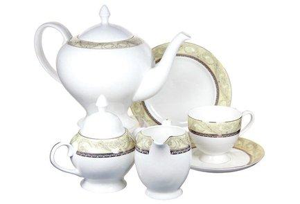 Emerald Чайный сервиз Романтика на 6 персон, 21 пр. E5-HV005011_21-AL