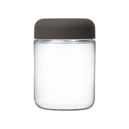 Kinto Емкость для хранения Cylin (0.75 л), 9.8х14.5 см, коричневая