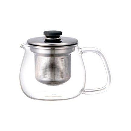 Kinto Чайник Unitea (0.5 л), 8х11 см, прозрачный 8308 Kinto kinto чайник trape 0 45 л белый 22842 kinto