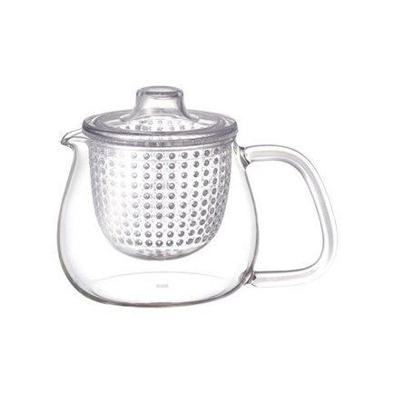Kinto Чайник Unitea (0.5 л), 8х11 см, прозрачный 22909 Kinto kinto чайник trape 0 45 л белый 22842 kinto