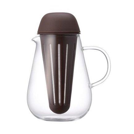 Kinto Чайник Pengy (0.72 л), коричневый