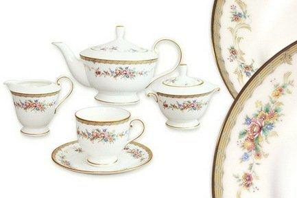 Narumi Чайный сервиз на 6 персон Наслаждение, 17 пр. N51229-52302AL