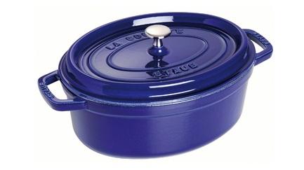 Staub Кокот овальный, 27 см (3.2 л), фиолетовый 1102791