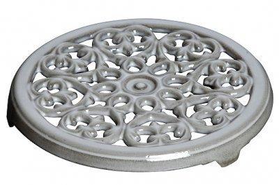 купить Staub Подставка под горячее чугунная, 23 см, серый графит 1601018 Staub по цене 4350 рублей