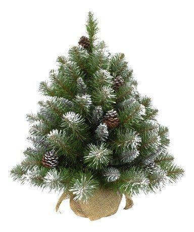 Triumph Tree Ель Императрица с шишками, 60 см, в мешочке, заснеженная ель искусственная заснеженная 60см