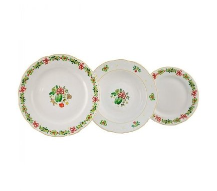 Leander Набор тарелок Мэри-Энн Рождество, 18 пр. 03160119-2571 Leander