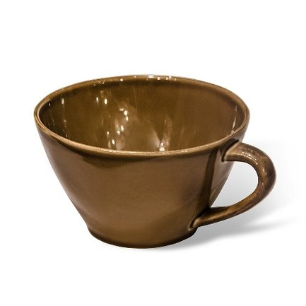Costa Nova Чашка Lisa, 18 см, коричневая LSS181-02203Z Costa Nova чашка costa nova friso комплект из 4 шт fis 181 01410 o