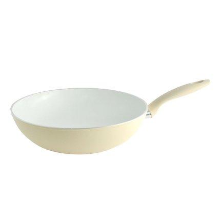 Fissler Сковорода-вок BlackAndWhite Edition, 28 см, белая 4645128100 Fissler fissler сковорода maxeo comfort 28 см