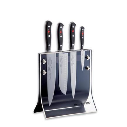 Fried. Dick Набор кованых ножей Premier Plus, 5 пр., в магнитной подставке 88040110 Fried. Dick набор ножей в подставке 5 предметов adt нео 498018