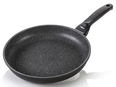 Risoli Литая сковорода HardStone Granit, 24 см risoli литая сковорода гриль granit induction 26 см
