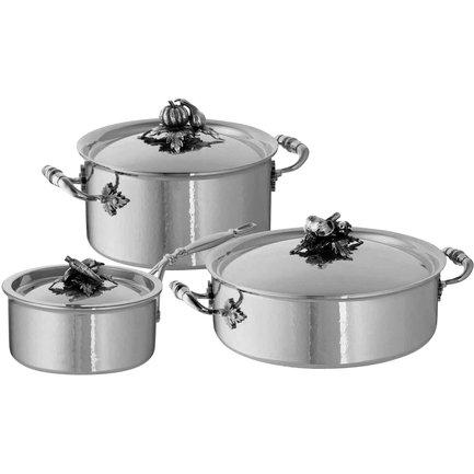 Ruffoni Набор посуды Opus Prima, 3 пр. disney набор детской посуды королевские питомцы 3 предмета