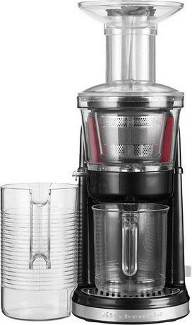 KitchenAid Соковыжималка для овощей и фруктов, максимальная экстракция, черная kitchenaid набор прямоугольных чаш для запекания 0 45 л 2 шт красные