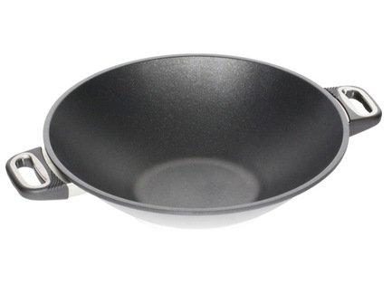 AMT Gastroguss Вок с антипригарным покрытием (3 л), 32х11 см, толщина дна - 9 мм AMT1132 AMT Gastroguss какую лучше сковороду вок