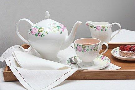 Royal Aurel Чайный сервиз Прованс на 6 персон, 15 пр. чайный сервиз 23 предмета на 6 персон bavaria кёльн b xw213y 23
